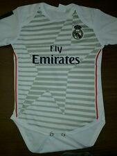 New Real Madrid Home Soccer Baby onesies  2014 -2015 Personalized