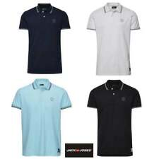 Jack & Jones Casual Twin Tipped Polo Shirt   All Sizes Available