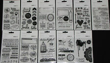 Kaisercraft Clear Stamps 'COLLECTIONS 2015' (Choose from 26 Designs) KAISER