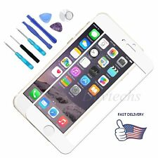 Front Screen Glass Lens Replacement Part Repair Kit White for Apple iPhone 6 4.7