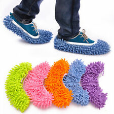 Great HS Mop Slipper Floor Polishing Cover Cleaner Dusting Cleaning Foot Shoes
