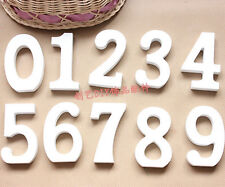 Large 0-9 Wooden Arabic numbers / Wall Hanging / Nursery Decor / Alphabet Wall