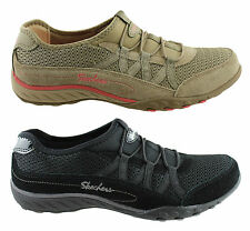 SKECHERS BREATHE EASY RELAXATION WOMENS MEMORY FOAM SLIP ON CASUAL SHOES SALE!