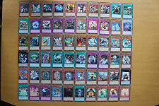 Yugioh ORCS, GAOV & REDU Silver Title Rares (60 Different Cards)