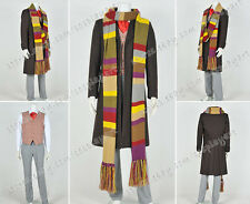 Who Purchase Doctor Cosplay The 4th Fourth Dr Tom Baker Costume Suit With Scarf