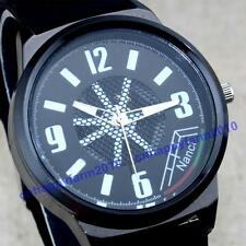 New Hollow Design Sport Silicone Mens Boys Jelly Quartz Rubber Wrist Watches