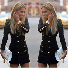 New Sexy Ladies Casual Women Long Sleeve Party Evening Cocktail MINI Dress