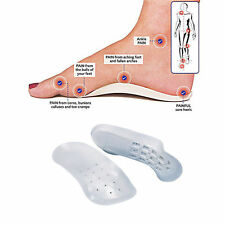 MEN WOMEN FOOT SUPPORT SHOE INSOLE ORTHOTIC FLAT FEET HEELS ARCHES PAIN RELIEF