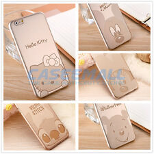 Ultra Thin Gold Disney Hello Kitty Patterned Case Cover iPhone 6 / Plus / 5s US