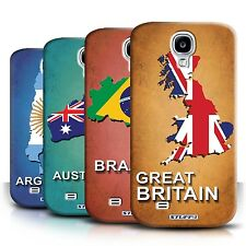STUFF4 Back Case/Cover/Skin for Samsung Galaxy S4/SIV/Flag Nations