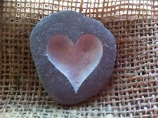 Cornish Love pebble, Hand carved, each one unique, perfect Wedding gift