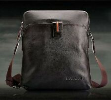 Vintage Men's Leather Crossbody Shoulder Bag Briefcase Messenger Tablet Bag New