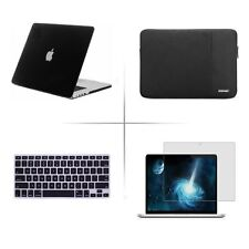 "Screen protector Keyboard cover hard case for Macbook Air/Pro/Retina 11"" 13"" 15"""