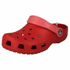 CROCS STYLE CAYMAN KIDS RED/ PINK SYNTHETIC CROCS