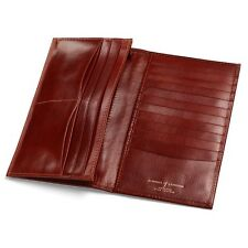 Aspinal of London Breast Pocket Wallet Smooth Cognac Personalised