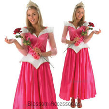 CL246 Sleeping Beauty Princess Aurora Costume Adult Disney Fancy Dress Up Party