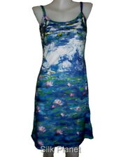 CLAUDE MONET WATER LILIES POND PAINTING FINE ART PRINT TANK TOP DRESS LADIES &