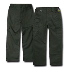 Olive Drab Cargo Military BDU Ripstop Utility Tactical Uniform Pants - 16 SIZES
