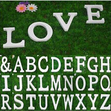 HOT Wooden Wood Letter Alphabet Word Free Standing Wedding Party Home Decoration