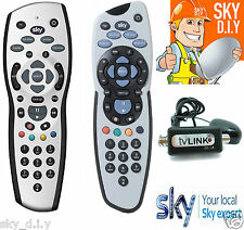 SKY+ PLUS HD REV 9 REPLACEMENT REMOTE CONTROL & BLACK MAGIC EYE TV LINK DEAL