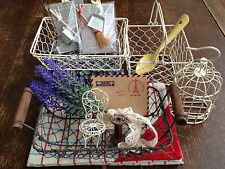 Wire Basket, Bird Cage & Garden Chairs - 10p extra p&p for each additional (UK)