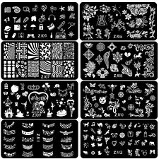 2015 New Arrival Nail Art Stamping Image Plates Stamp Metal Template DIY Design