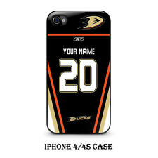 Custom Anaheim Duck Hockey Jersey With Your Name & Numbers On Iphone Case