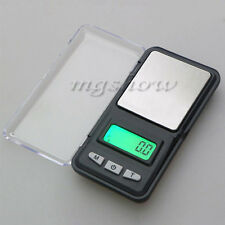 Mini Digital Pocket LCD Gram Jewelry Scale 0.1g / 0.01g Weighing Electronic WFEU