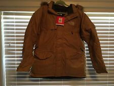 NWT North Face McMurdo Mens Parka (Wheat -T) Hyvent 550 Fill Goose Down