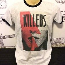THE KILLERS T SHIRT Rock Band Concert BRANDON FLOWERS GRAY SIZE S M L XL #๋J194