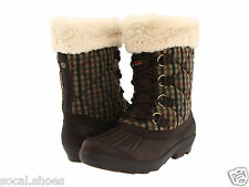 UGG AUSTRALIA NEWBERRY STOUT PLAID WOMEN'S SNOW BOOTS 3229 WATERPROOF SHOES NEW