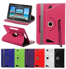 360° UNIVERSAL LEATHER STAND CASE COVER FOR 7 Inch ANDROID Tablet PC TAB