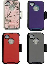 Otterbox Defender Case With Belt Clip For Iphone 4s & iphone 4 Otterbox case