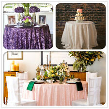 SEQUIN WEDDING TABLECLOTH, Blush, Iovry, Purple, Shrimp Pink Sequin Tablecloth
