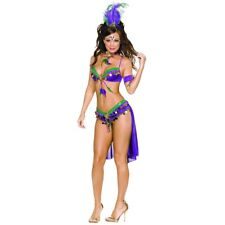 Mardi Gras Costume Adult Sexy Outfit Carnival Fancy Dress