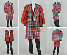 Doctor Cosplay Who The 3rd Third Dr Jon Pertwee Costume Uniform Full Set Fashion