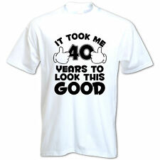 GIFT BOXED It Took Me 40 Years 1976 40th Birthday Present Gift Idea Mens T Shirt