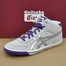 ASICS Onitsuka Tiger AARON MT GS Trainers Shoes Grey/Silver/Violet C4B0N 1093