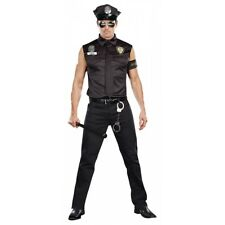 Cop Costume Adult Police Officer Halloween Fancy Dress