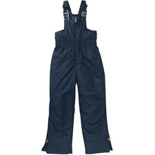 NEW Faded Glory Boys Girls Snow Bib Ski Pants  SZ S L XL 6/7 10/12 14/16 Blue
