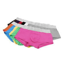 HOT SELL!Sexy Modal Boxers Underwear 10 Colors Men's Underwear Boxer Shorts DX