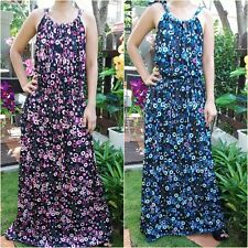 Women Long Dress casual Beach,Maternity clothes, Cute plus size Dresses Sz 8-18