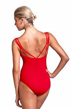 NEW! WOMENS DANCE BALLET LEOTARD WITH TRIPLE BACK STRAPS. 4 COLORS! (RDE1523)