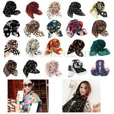 Lady Girls Long Soft Chiffon Scarf Neck Wrap Shawl Stole Scarves Leopard