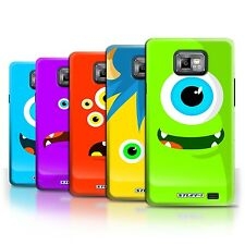 STUFF4 Back Case/Cover/Skin for Samsung Galaxy S2/SII/Monsters