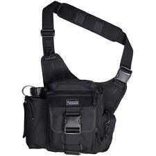 New! Maxpedition Jumbo Versipack with Front and Back Subdividers Black 0412B
