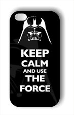 KEEP CALM AND USE THE FORCE CASE FOR iPHONE 4 , 5 , 5c , 6 -bh7u