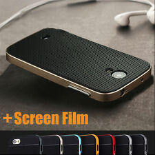 Luxury Hybrid 2 in 1 Silicone+PC Frame Armor Case For Samsung Galaxy S4 I9500
