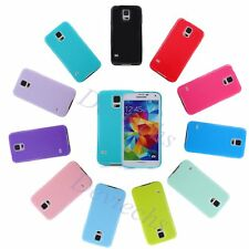 Ultra Slim TPU Rubber Gel Candy Skin Case Cover for Samsung Galaxy S5 S6 S6 edge