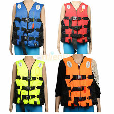 Adult Swimming Life Jacket Vest Whistle Foam Flood Full Colors and Sizes